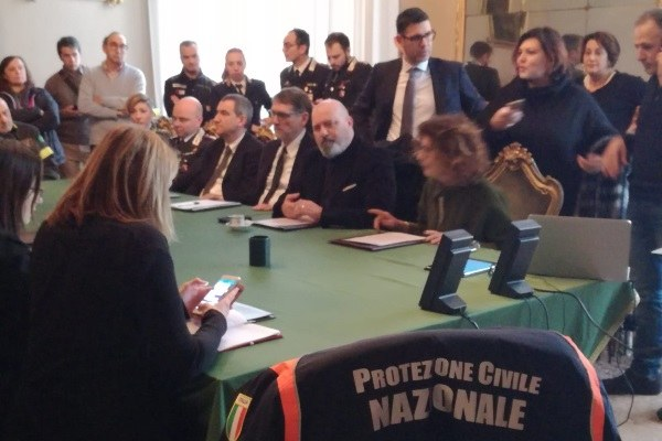 Vertice in Prefettura 3 febbraio 2019 per alluvione Castel Maggiore bis