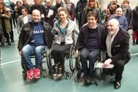 Firma protocollo a Villanova d'Arda per centro nazionale paralimpico 20 febbraio 2019