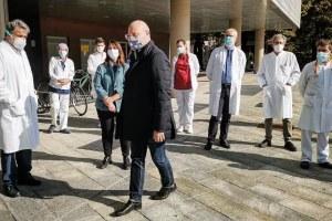 Bonaccini - visita ministro Speranza Piacenza 16 ottobre