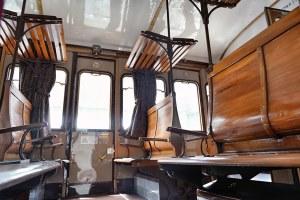 Treno di Dante interno treno storico
