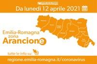 ER in zona arancione dal12 aprile 2021