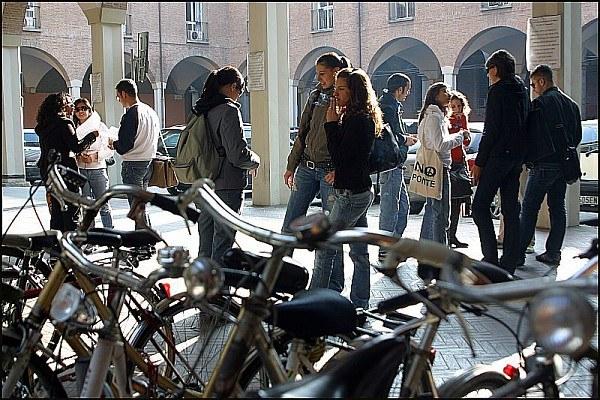 Adolescenti-centro storico