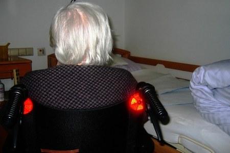 Casa di riposo- donna anziana