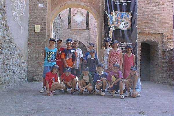 Chernobyl, gruppo di bambini