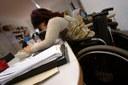 Disabile donna lavoro