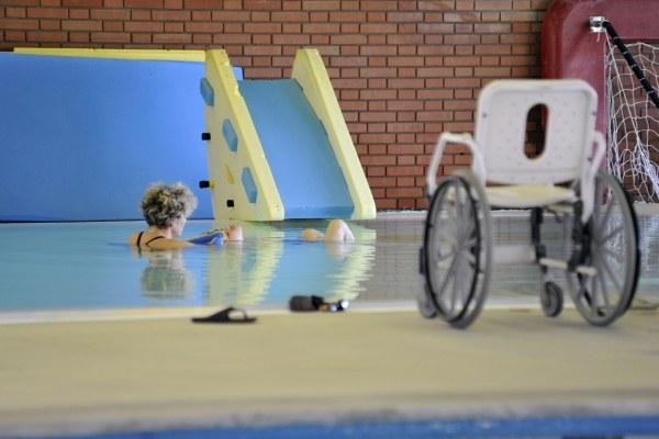 Disabile, struttura riabilitativa