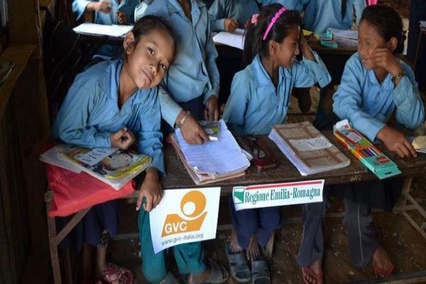 Nepal.Progetto regionale scuole dopo il rerremoto