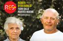 Res, coppia anziani con logo