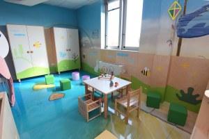 Spazio bambini oncologia Sant'Orsola- dettaglio