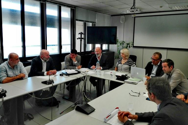 Bonaccini incontro ex-Breda 24 settembre 2019