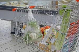 Carrello della spesa, supermercato