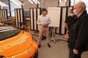 Colla Lamborghini stabilimento auto
