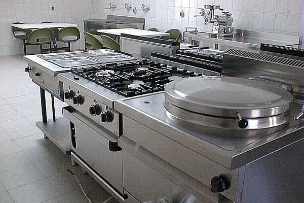 Cucina professionale, forniture alberghiere