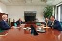 Incontro Colla e segretario Stato San Marino Lonfernini 2