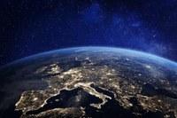 L'Europa dallo spazio