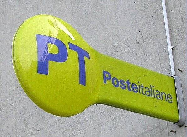 Poste italiane, postini, logo