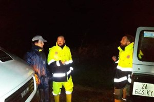 Maltempo nel bolognese, novembre 2019, protezione civile