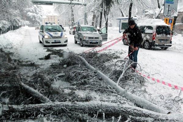 Neve, maltempo, Reggio Emilia