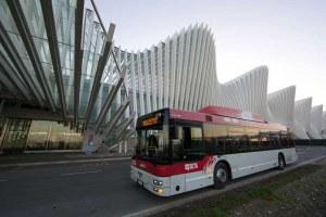 Autobus, città, Seta