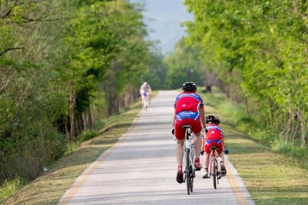 Ciclovia, ciclista, turismo, pista ciclabile