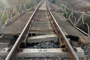 Ferrovia, binari, Cavriago, danni, treno, rotaie