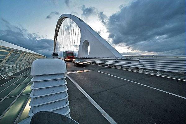 Infrastrutture, autostrada, ponte Calatrava