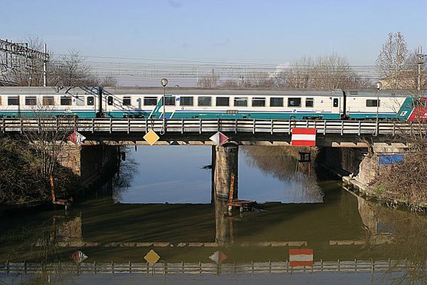 Infrastrutture, ponte ferrovia, treno