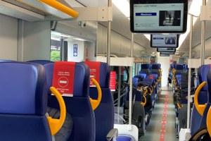interni nuovo Pop treno