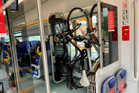 Treno trasporto bici