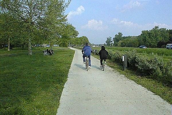 Pista ciclabile, bici, ciclisti