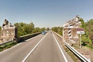Ponte sul fiume Taro