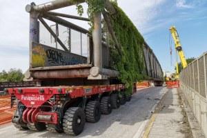 Ponte Teodorico, sopralluogo Bonaccini e Corsini - 13/06/2020