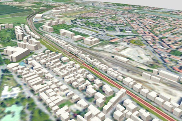 Ferrovie, rendering linee a Ferrara, Ferrara, treni