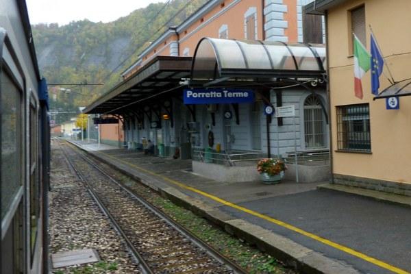 Stazione ferroviaria di Porretta, treni regionali