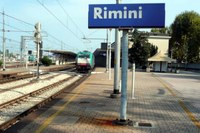 Stazione ferroviaria di Rimini, treni