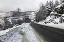 E45 strada neve gelo inverno