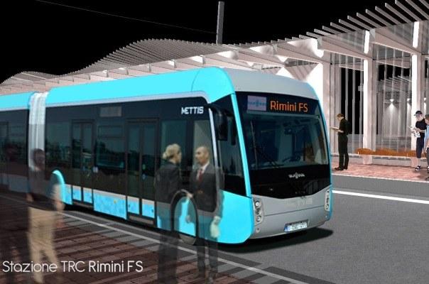 Trc fermata stazione Rimini