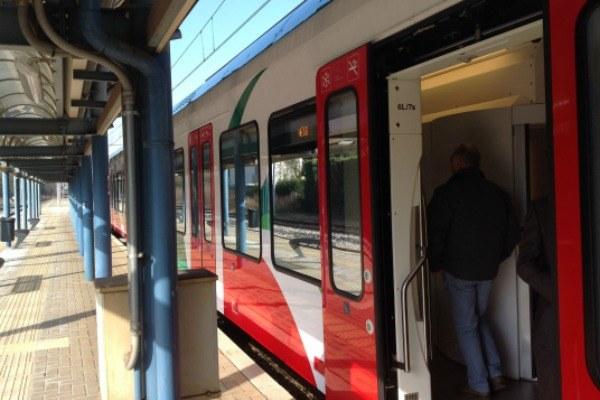 Treno ETR 350 linea Portomaggiore- esterno
