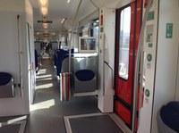 Treno ETR 350 linea Portomaggiore- interno