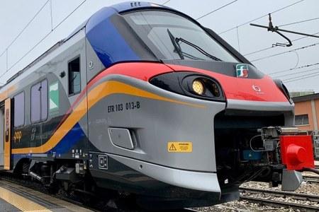 nuovo treno Pop esterno