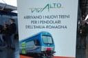 Treno Vivalto (locandina nuovi treni per i pendolari)