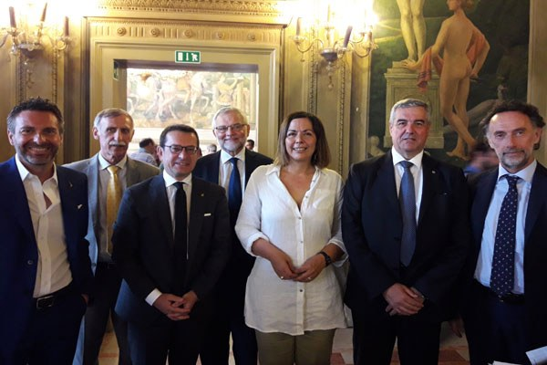 Paola Gazzolo, Convegno Aipo a Ferrara