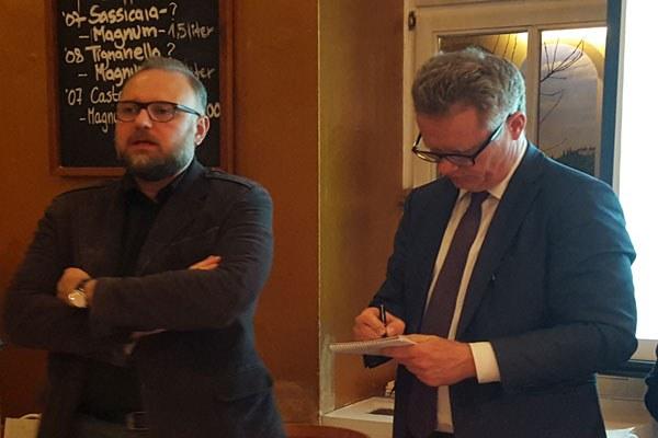 Assessore Mezzetti a Berlinale