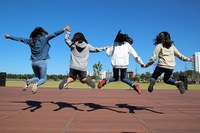 Bambine felici, sport, pari opportunità, parità