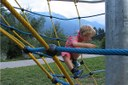 Bambino, gioco, divertimento, turismo, vacanza