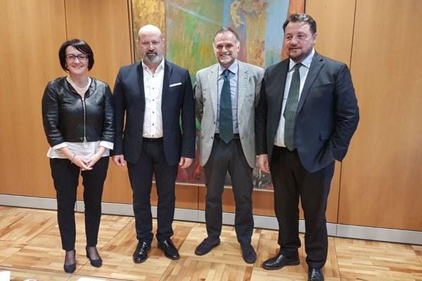 Bonaccini e Petitti incontrano la Regione Lombardia