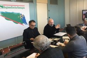 Bonaccini e Corsini, conferenza stampa Turismo