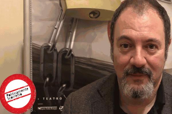 Carlo Lucarelli intervistato da Politicamente scorretto