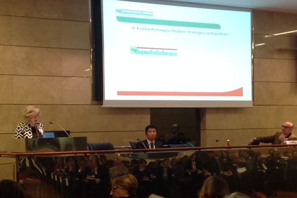Caseli a Italy-China science, technology and innovation week 2016