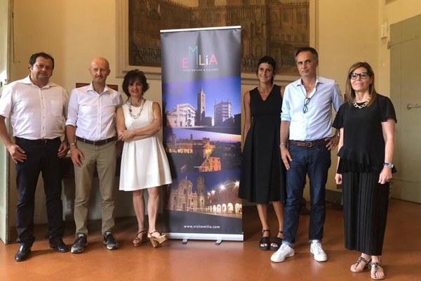 Corsini, presentazione dati Destinazione Emilia, luglio 2019